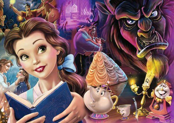 Disney Belle Mood 1000 Piece Puzzle Ravensburger