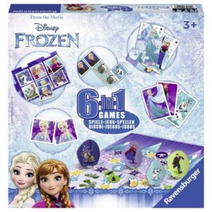 Disney Frozen 6-in-1 Games - Ravensburger