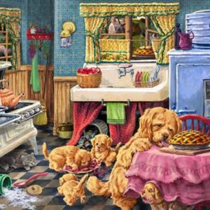 Doggone Good Pies 1000 Piece Puzzle - Tilbury