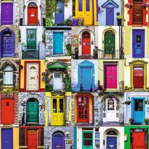 Doors of the World 1000 Piece Puzzle Ravensburger