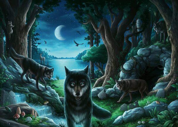 Escape 7 The Curse of the Wolves 759 Piece Puzzle - Ravensburger