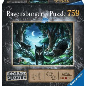 Escpae 7 - The Curse of the Wolves 759 Piece Puzzle - Ravensburger