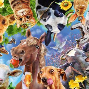 Funny Farmyard Friends 200 Piece Jigsaw Puzzle - Ravensburger