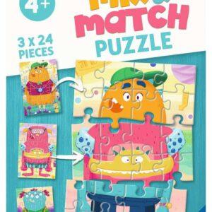 Mix & Match Monsters 3 x 24 Piece Puzzle Ravensburger