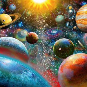 Planets 1000 Piece Puzzle Ravensburger