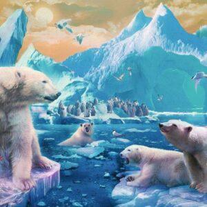 Polar Bear Kingdom 300 Piece Puzzle - Ravensburger