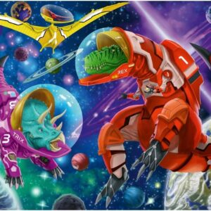 Space Dinosaurs 200 Piece Puzzle - Ravensburger