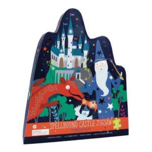 Spellbound Castle 40 Piece Shaped Puzzle Floss & Rock