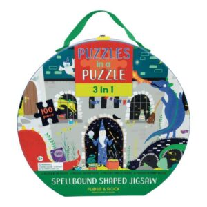 Spellbound Shaped 100 Piece Jigsaw Puzzle - Floss & Rock