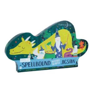 Spellbound Wizard Shaped 80 Piece Puzzle - Floss & Rock