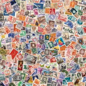 Stamps 1000 Piece Puzzle - Clementoni