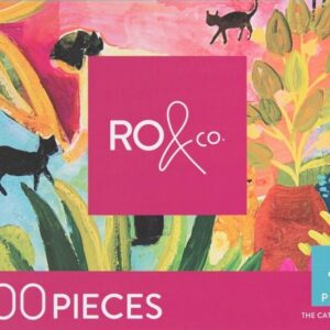 The Cat Lady of Porto 1000 Piece Puzzle - Ro & Co