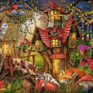 The Little Cottage 200 Piece Puzzle - Ravensburger