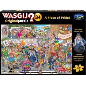 Wasgij Original 34 - A Piece of Pride 1000 Piece Puzzle - Holdson