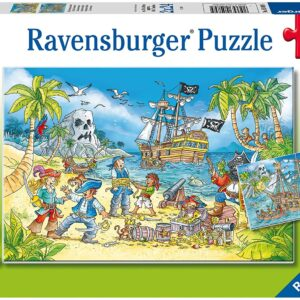 Adventure Island 2 x 24 Piece Puzzle Set - Ravensburger