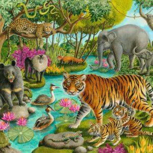 Animals of India 60 Piece Puzzle - Ravensburger