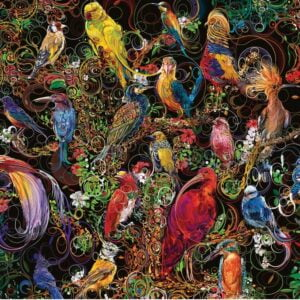 Birds of Art 1000 Piece Puzzle - Ravensburger