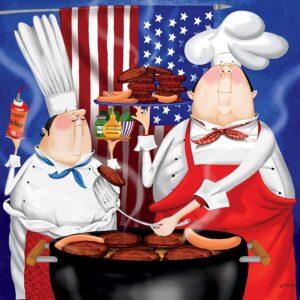 Bon Appetit July 4th 300 Larger Piece Puzzle - Ceaco