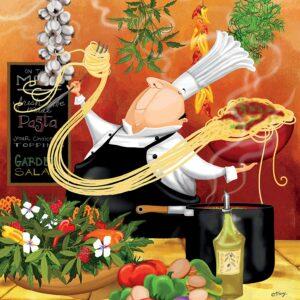 Bon Appetit - Whats Cooking 300 Large Piece Puzzle - Ceaco