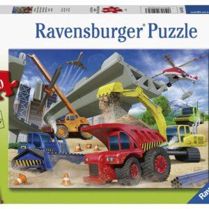 Construction Trucks 60 Piece Puzzle - Ravensburger