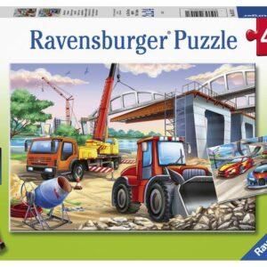 Construction & Cars 2 x 24 Piece Puzzle - Ravensburger