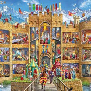 Cutaway Castle 150 Piece Puzzle - Ravensburger