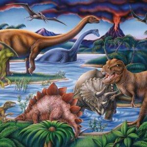 Dinosaur Playground 35 Piece Puzzle - Ravensburger