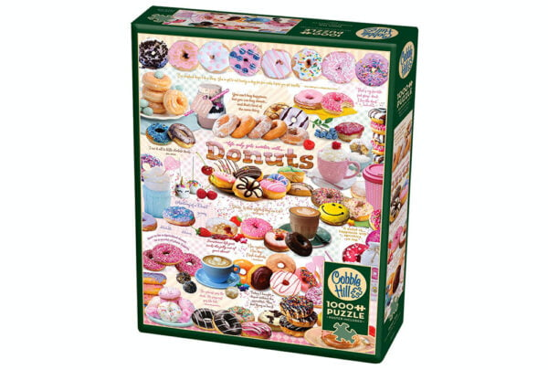 Donut Time 1000 Piece Puzzle - Cobble Hill