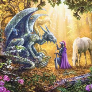 Dragon Whisperer 500 Piece Puzzle - Ravensburger