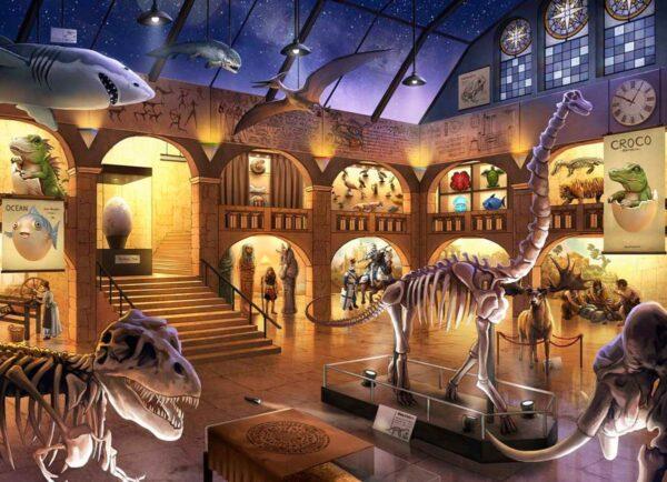 Escape Kids Puzzle - Museum Mysteries 368 Piece Puzzle - Ravensburger