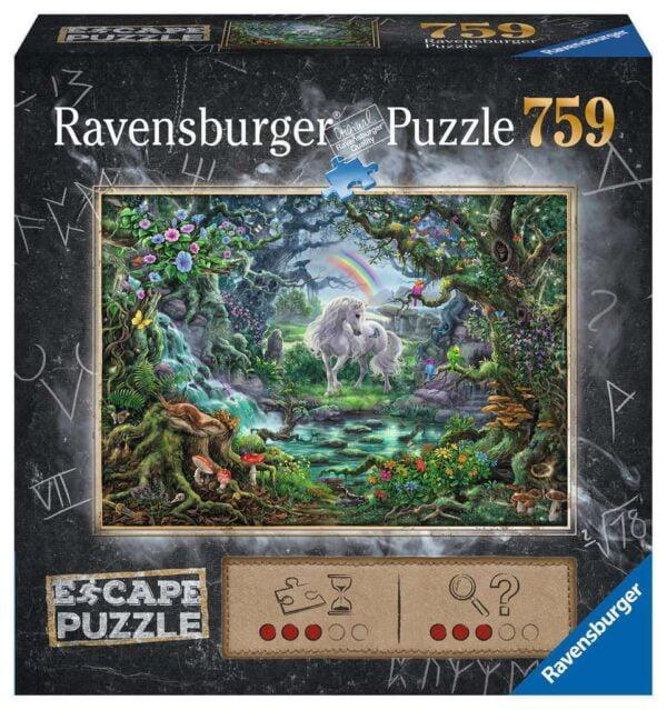 Escape - The Unicorn 759 Piece Puzzle - Ravensburger