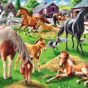 Happy Horses 60 Piece Puzzle - Ravensburger