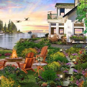 Home Sweet Home 3 - Harbor House 1000 piece Puzzle - Holdson