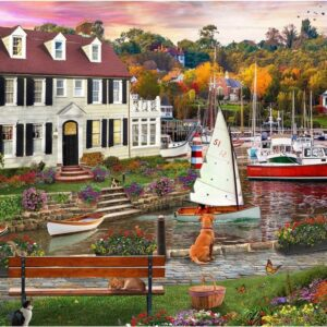 Home Sweet Home 3 - Seawall Walk 1000 piece Puzzle - Holdson