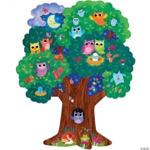 Hoot Owl Hoot Floor Puzzle - Peaceable Kingdom