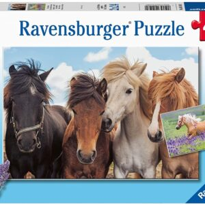 Horse Friends 2 x 24 Piece Puzzle - Ravensburger