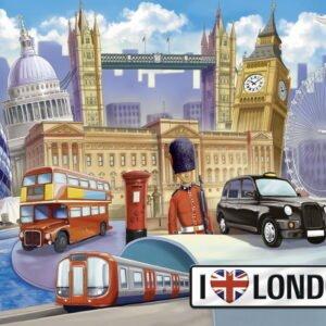 I Love London 100 piece Puzzle - Ravensburger