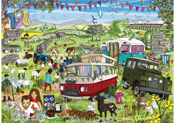 Just Living Life - Somewhere in Yorkshire 1000 piece Puzzle - Holdson