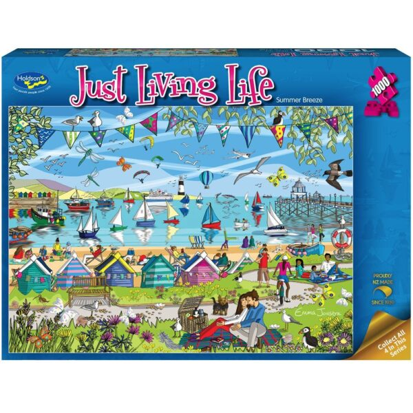 Just Living Life - Summer Breeze 1000 piece Puzzle - Holdson