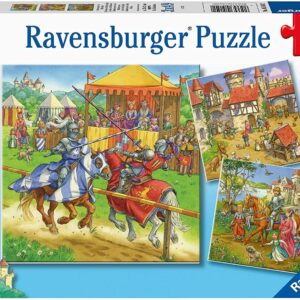 Life of the Knight 3 x 49 Piece Puzzle - Ravensburger