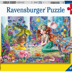 Mermaid Tea Party 2 x 24 Piece Puzzle - Ravensburger