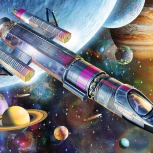 Mission in Space 100 Piece Puzzle - Ravensburger