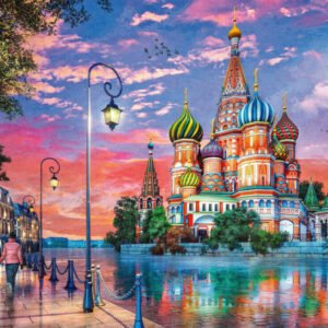 Moscow 1000 Piece Puzzle - Ravensburger