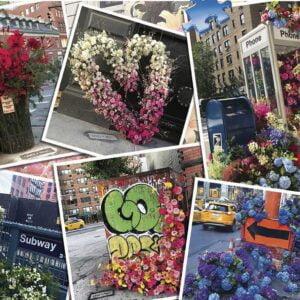 NYC Flower Flash 1000 Piece Puzzle - Ravensburger