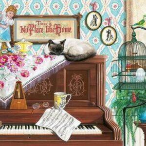 Piano Cat 750 Larger Piece Puzzle - Ravensburger