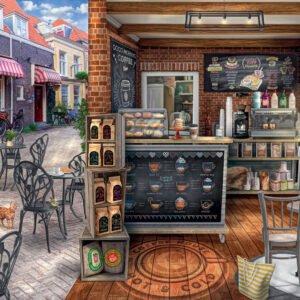 Quaint Cafe 1000 Piece Puzzle - Ravensburger