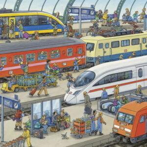 Railway Station 60 Piece Puzzle - Ravensburger