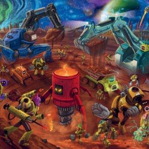 Space Construction 60 Piece Puzzle - Ravensburger