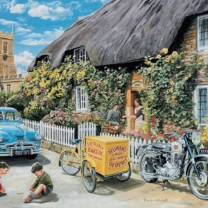 The English Village 3 - Bakers Delivery 500 XL Piece Puzzle - Holdson