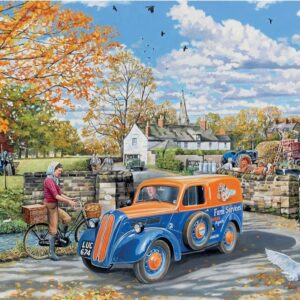 The English Village 3 - Farm Services 500 XL Piece Puzzle - Holdson